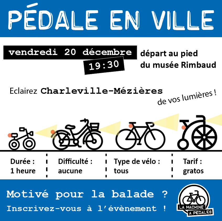 pedale en ville decembre